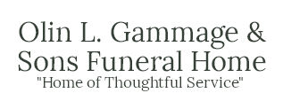 Olin L. Gammage and Sons Funeral Home