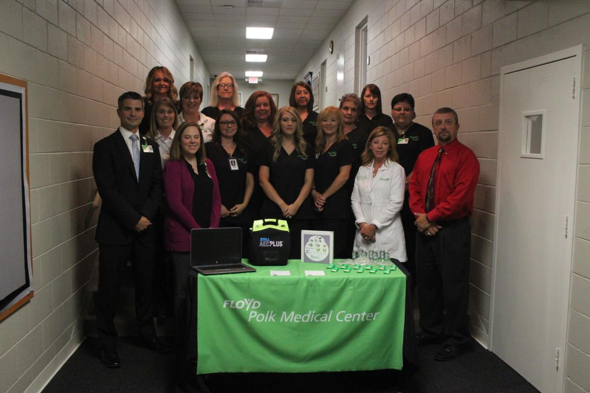 Polk School Nursing Program donation