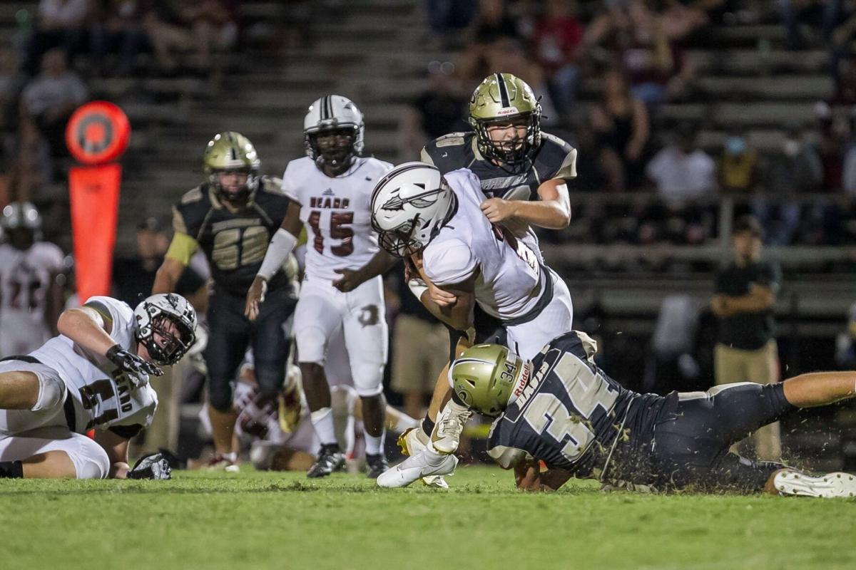 Pepperell Defensive play