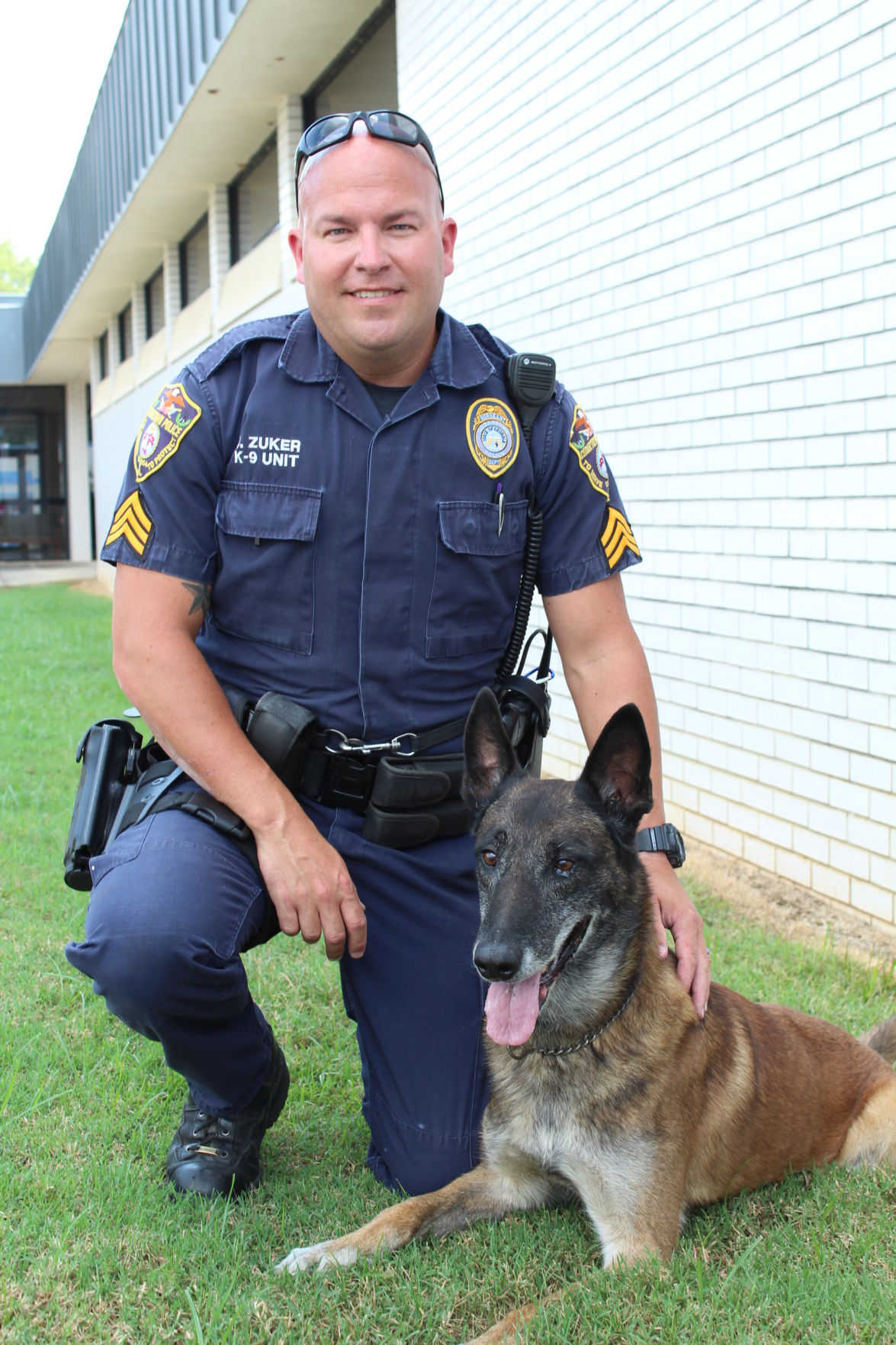 Sgt. Zuker and Kai