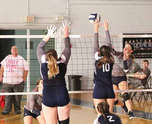 VOLLEYBALL: Lady Bobcats rally for home win over Andrew College
