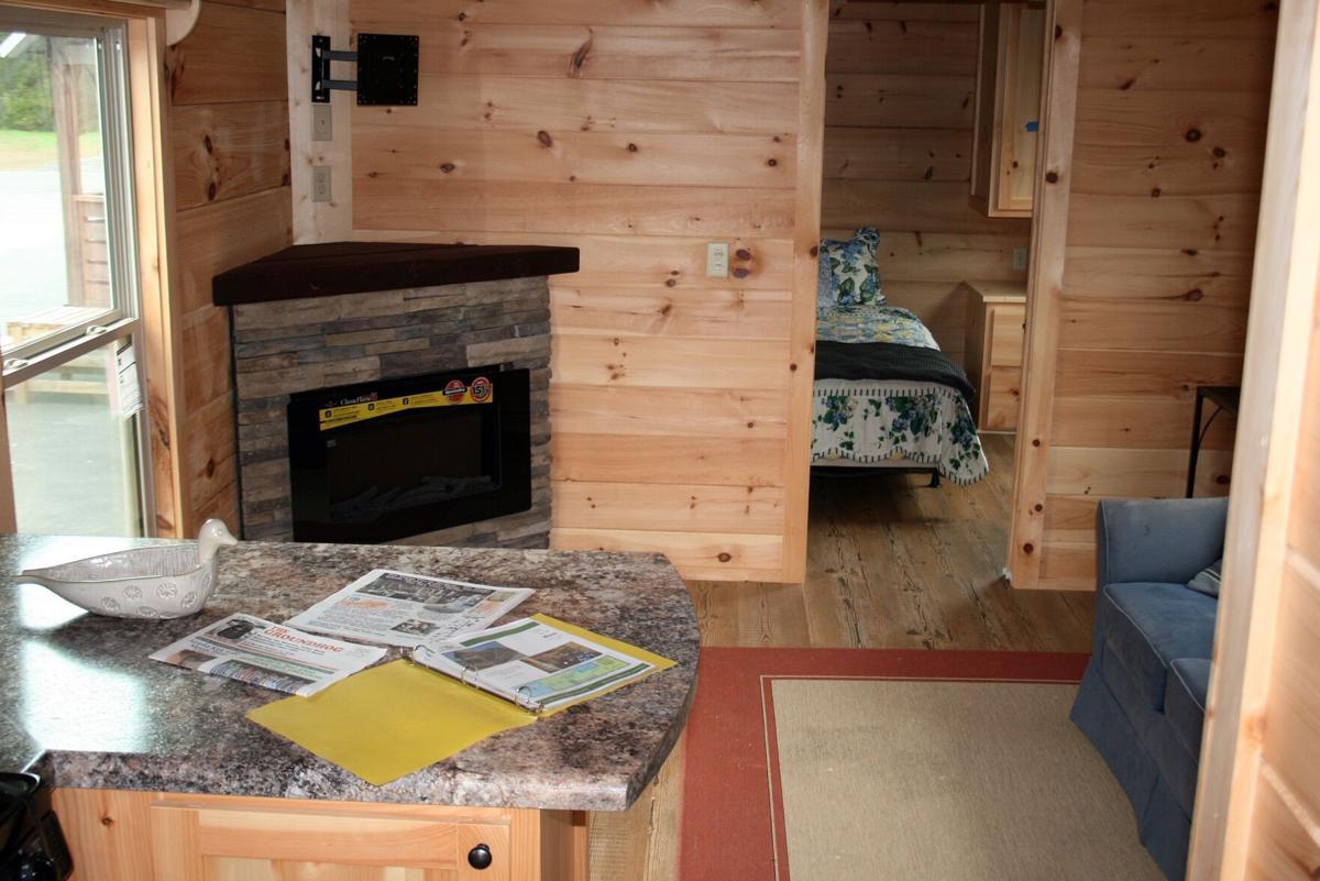 Cabin-like interior