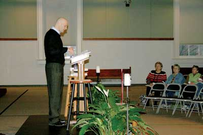 Emory pastor delves into the Apostles' Creed