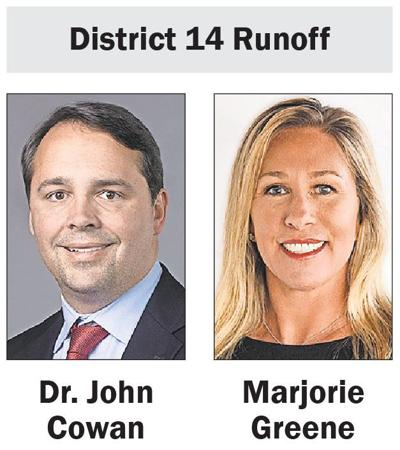 District 14 Republican Runoff candidates