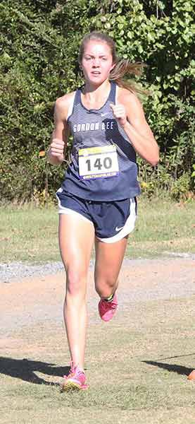 CROSS COUNTRY: Gracie O'Neal places third in Foot Locker South Regional race