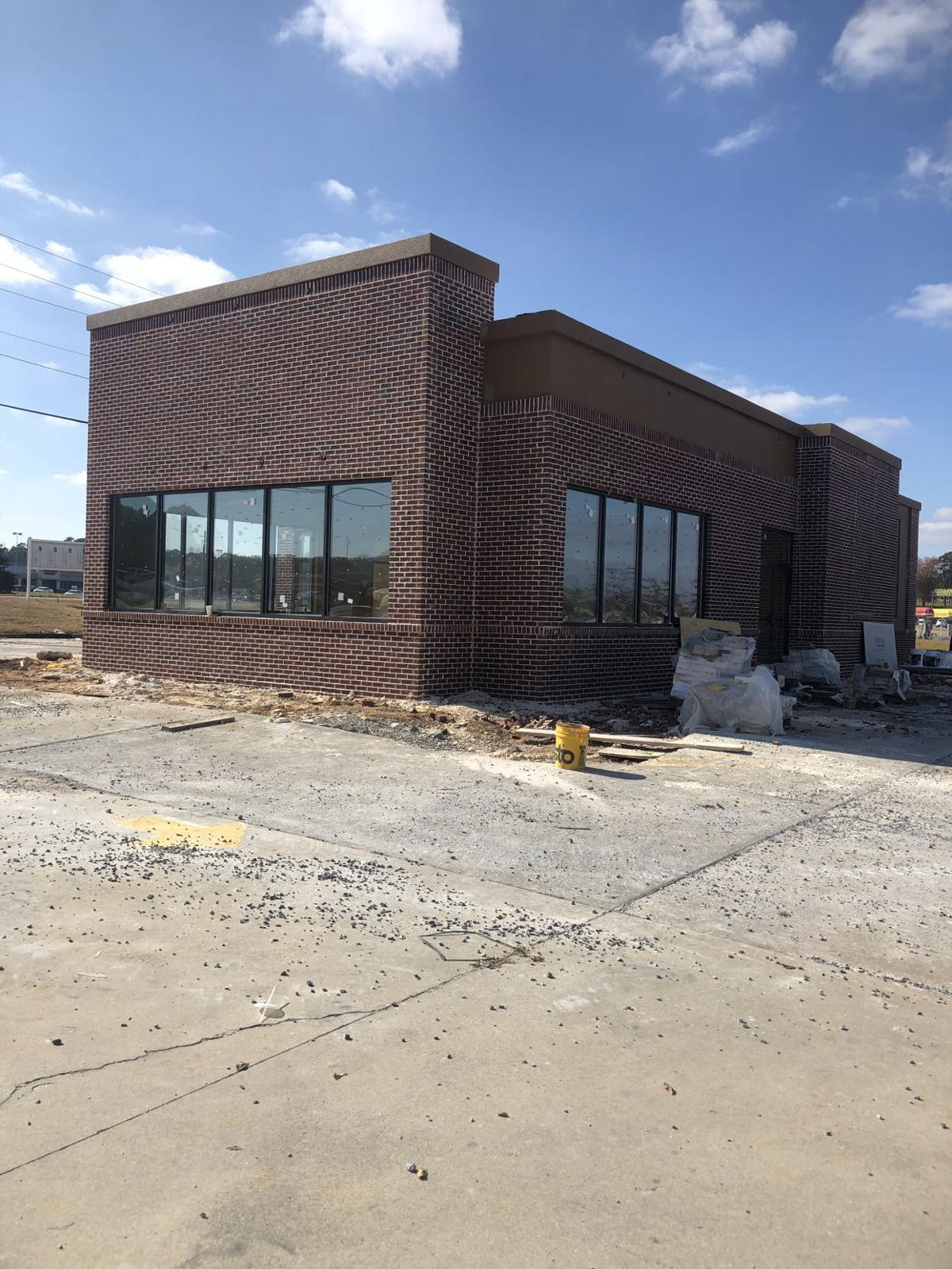 Popeye's Chicken construction continues in Rockmart