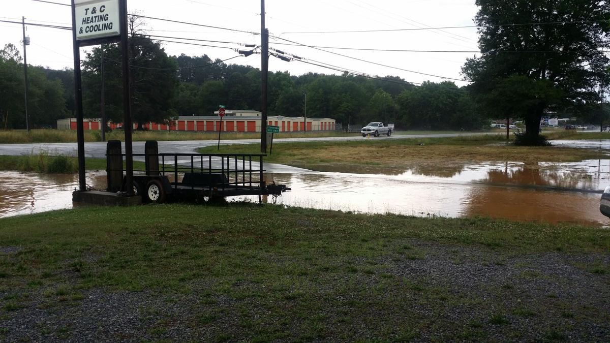 Cedartown flooding, June 2016