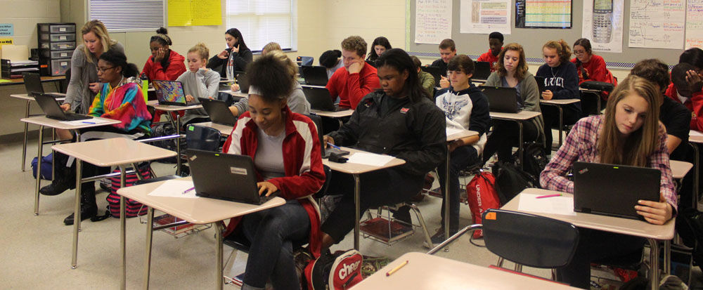 Chromebooks, Rome High