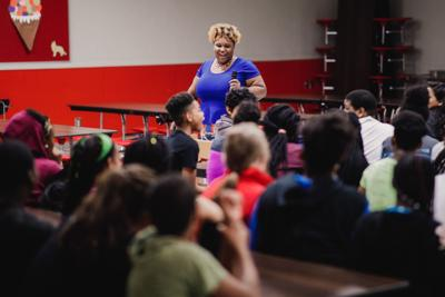 North Heights and Main Elementary students get a look at success