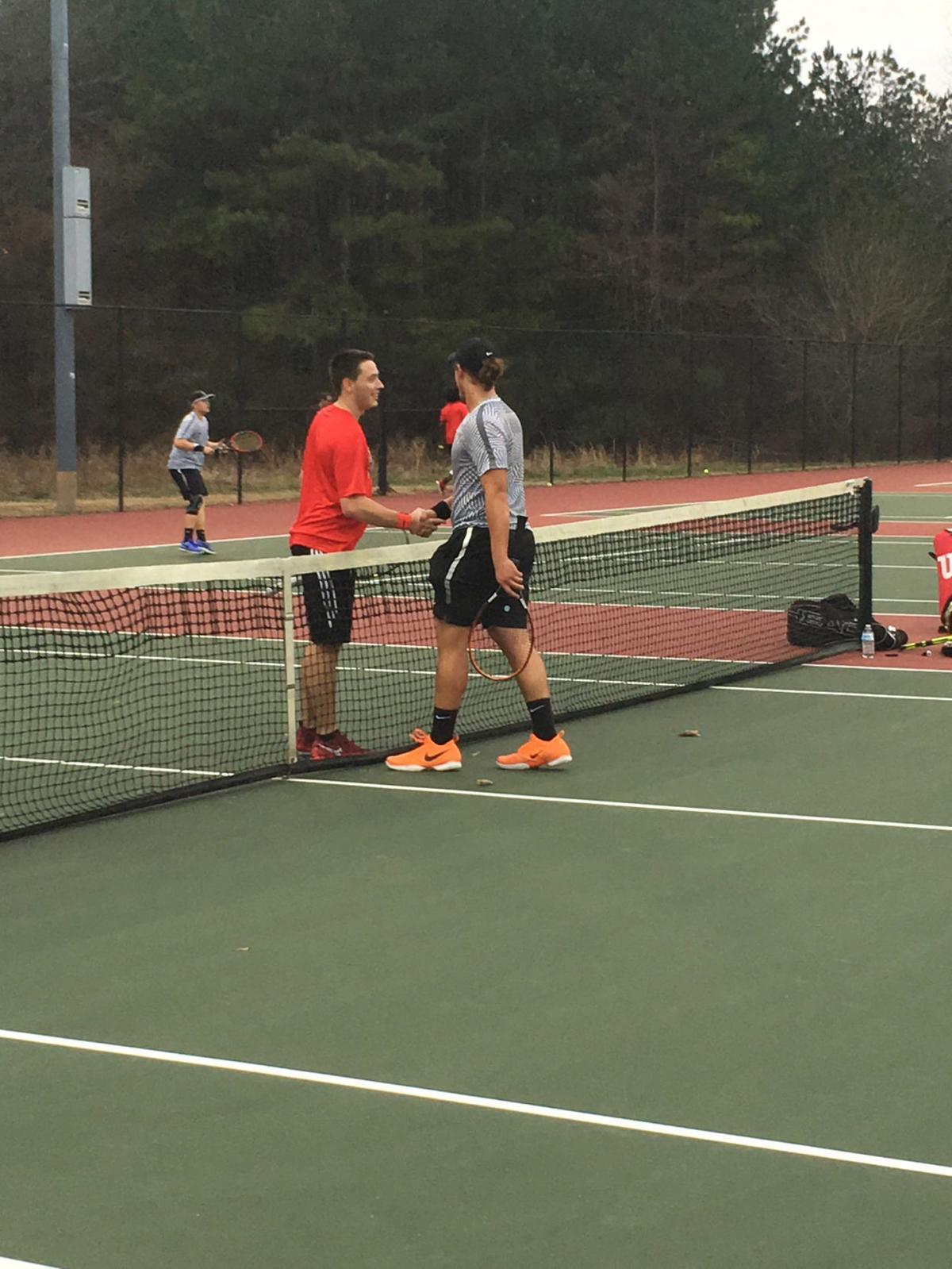 Rockmart vs Cedartown Tennis February 2018