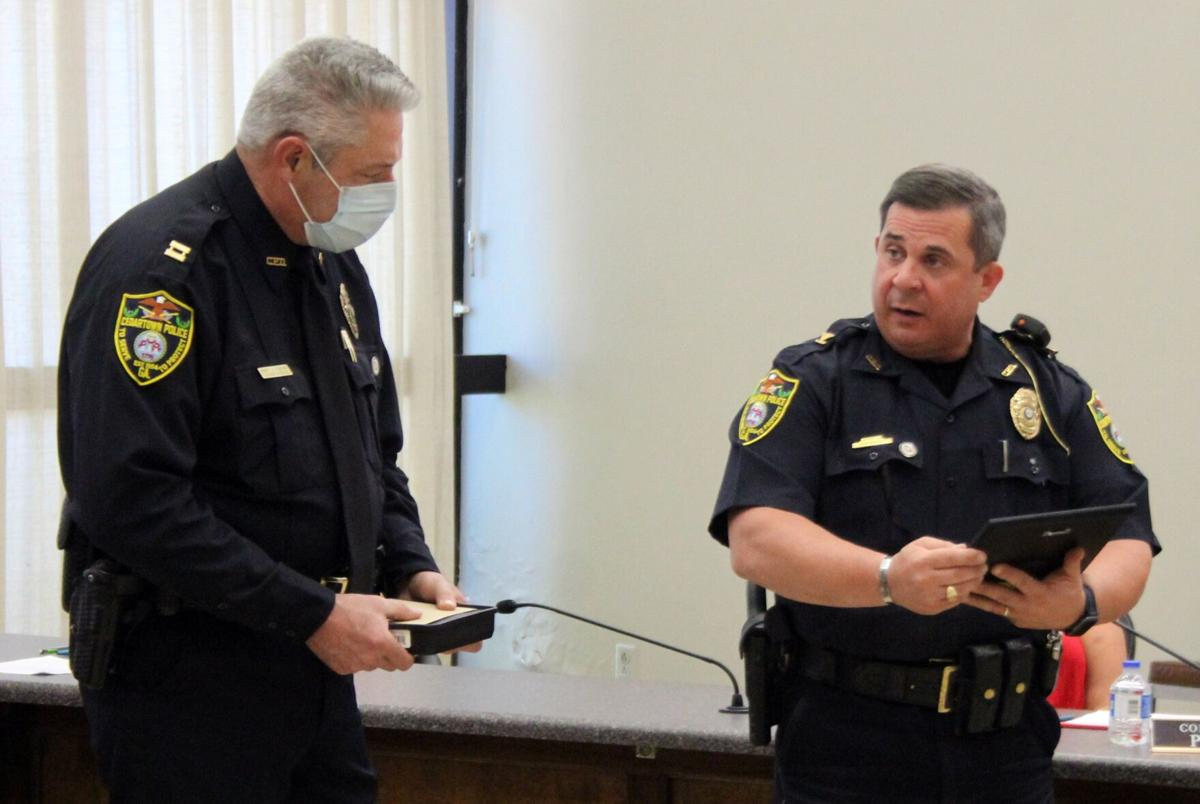 Cedartown Police Capt. Henry Runyan retiring after 30 years of service