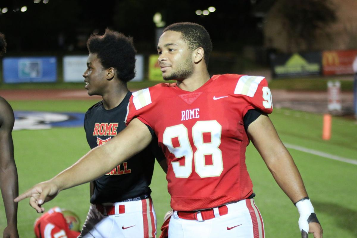 RHS lineman overcomes physical, emotional challenges