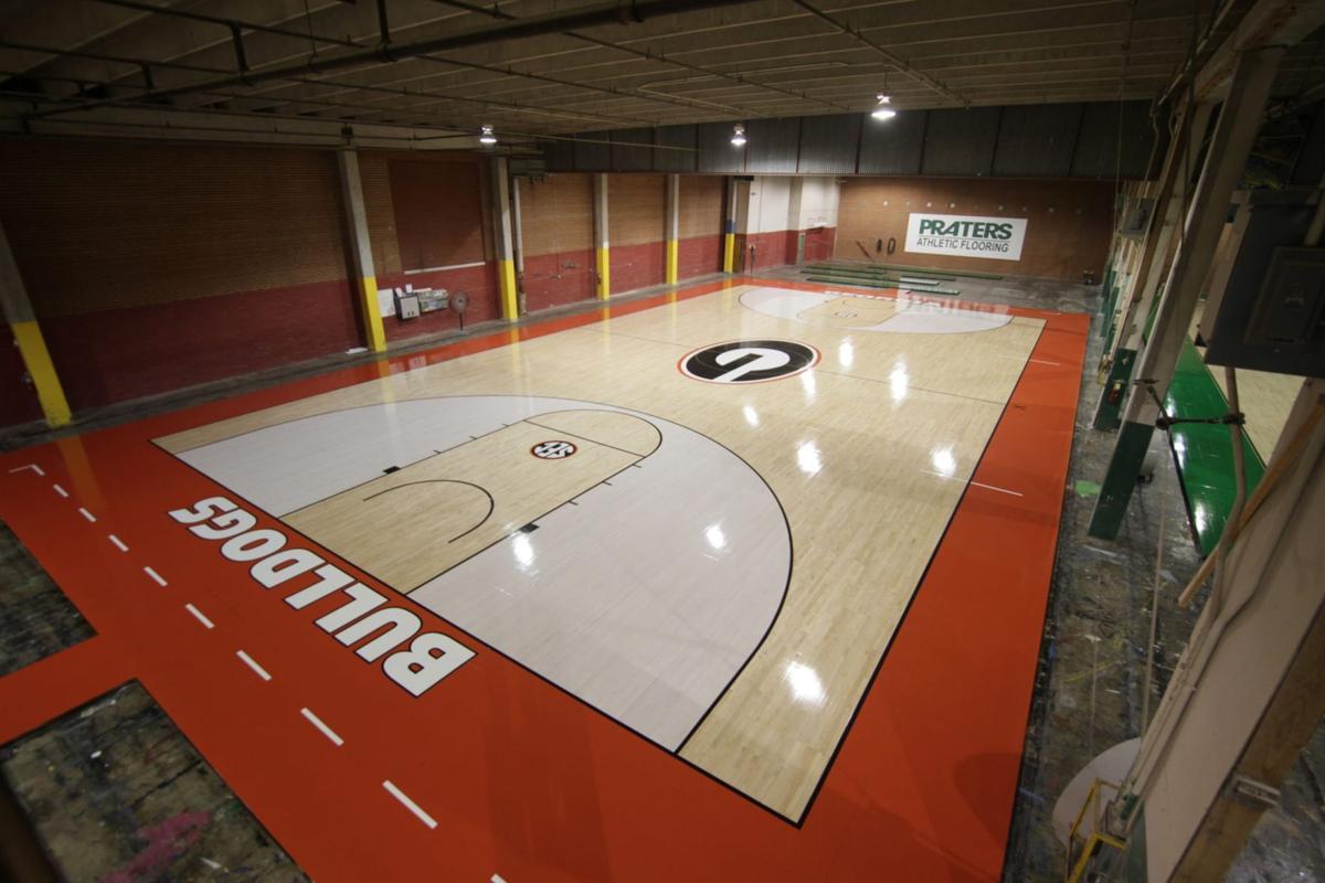 Praters Flooring Georgia Bulldogs floor