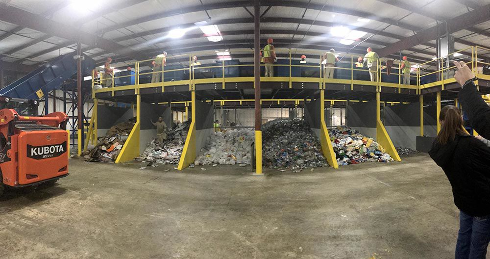 Rome Floyd Recycling Center on Lavender Drive