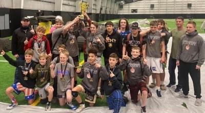 Guerrilla Wrestling Academy claims first place in state tournament