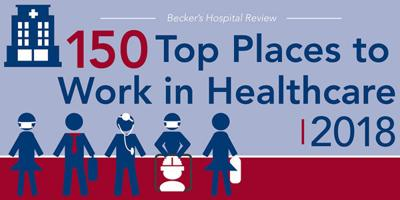 Gordon Hospital named one of the top places to work in healthcare