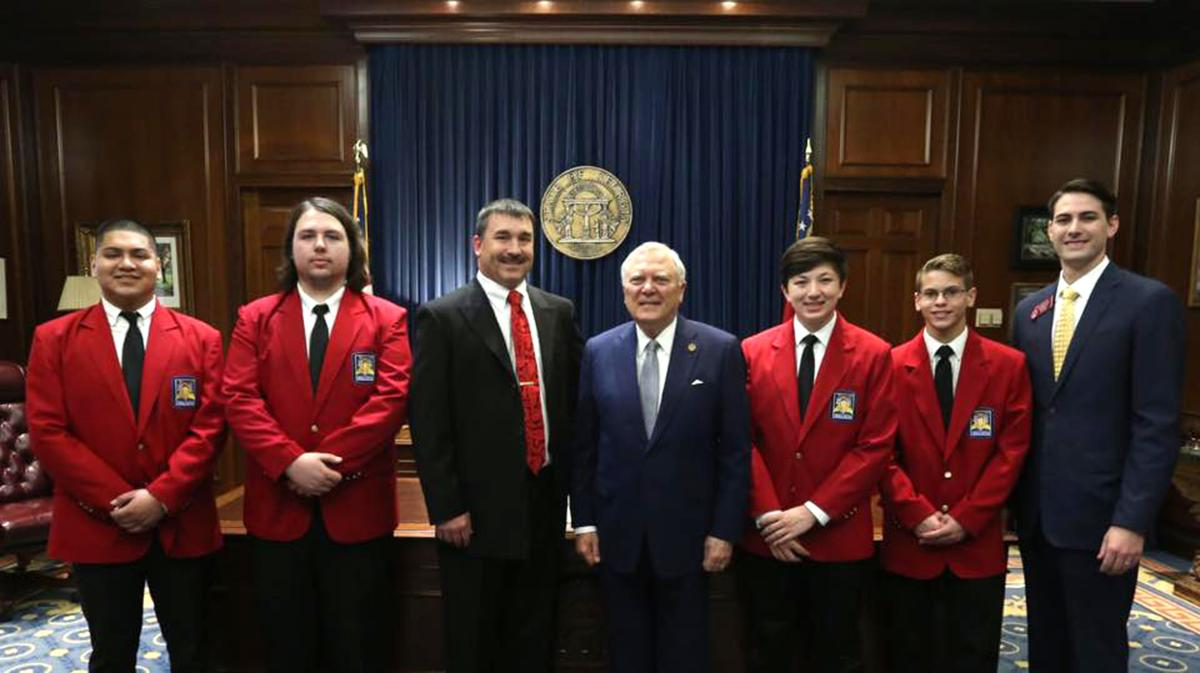 SkillsUSA students take trip to gold dome