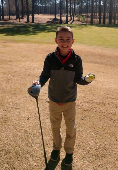 Local youth hits Hole in One for Birthday