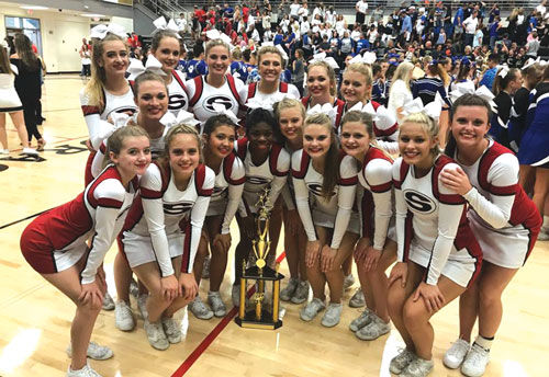 Sonoraville Cheerleading wins at Pepperell