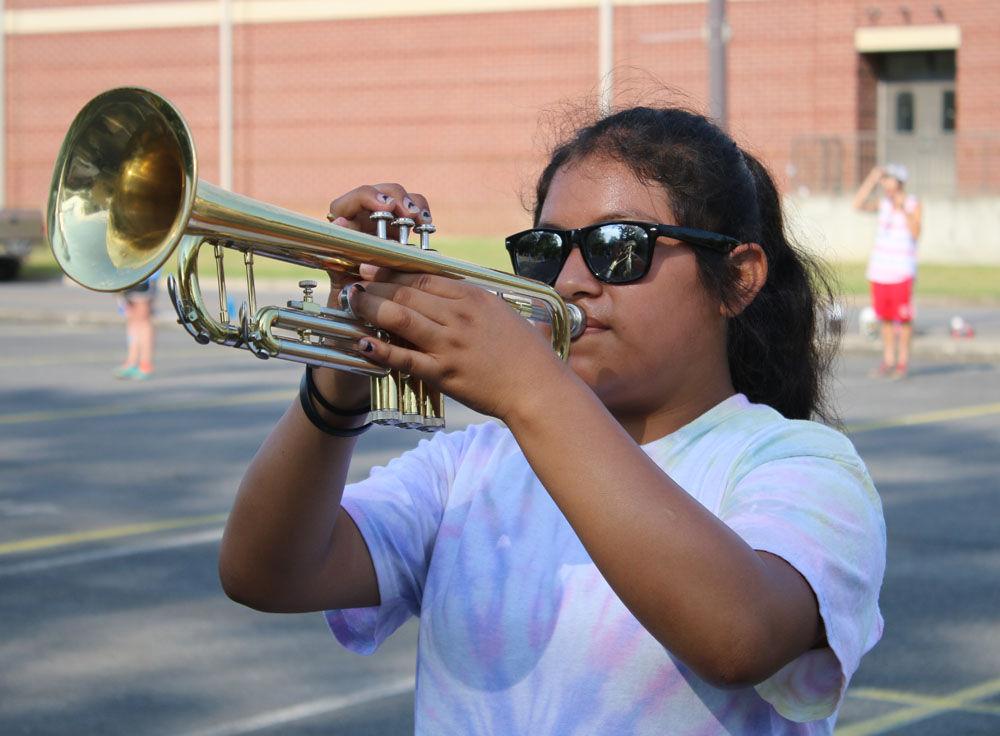 Pepperell High Band Camp
