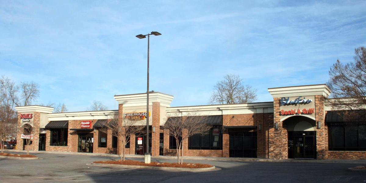 Retail center sold