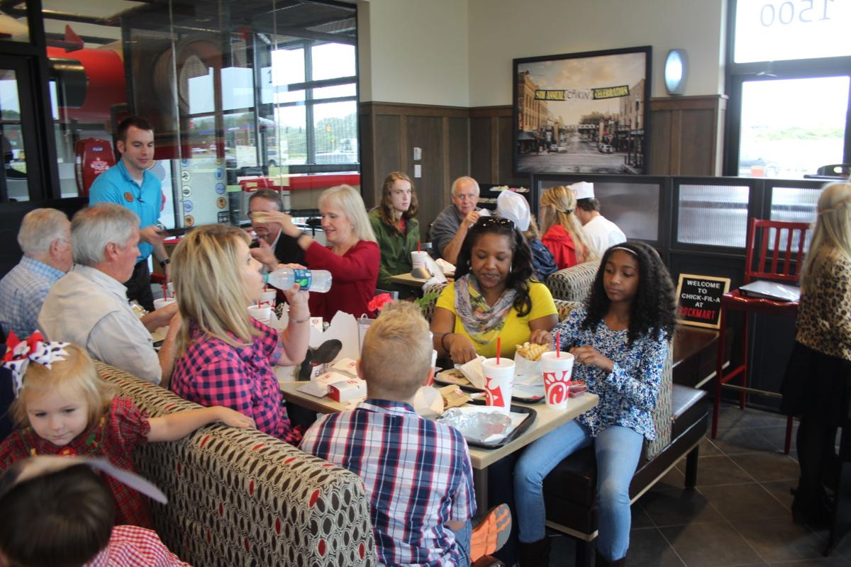 Chick-fil-A preview lunch