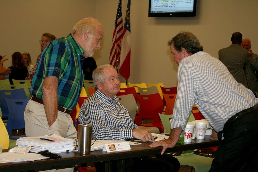 SPLOST Citizens Advisory Committee meeting