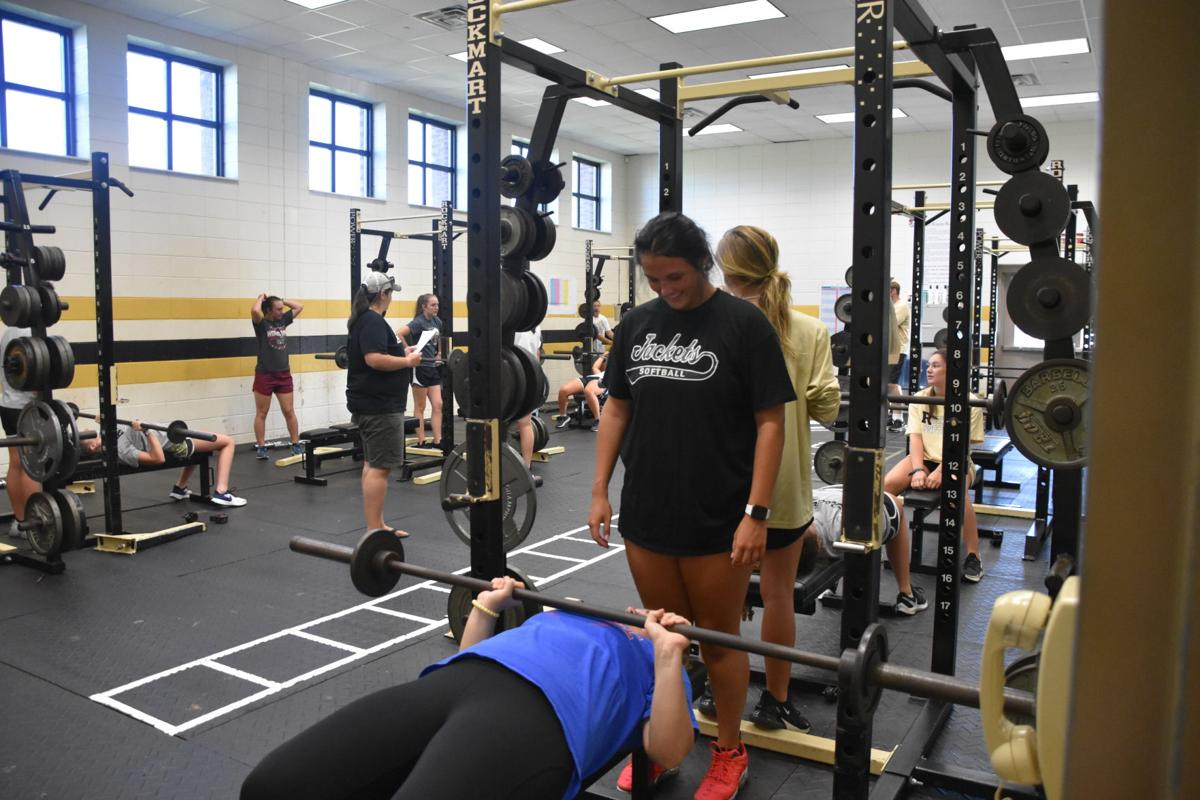 PSD athletes return to conditioning for 2020