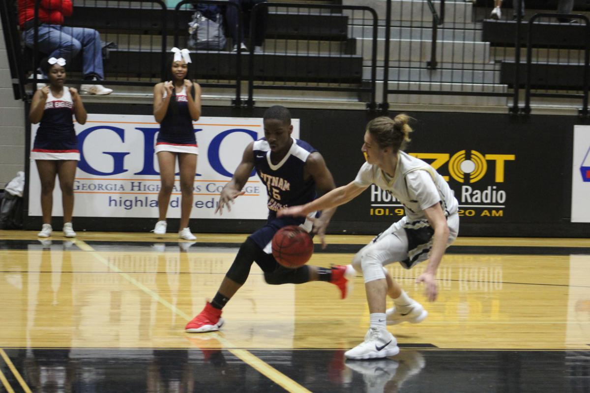 Rockmart boys playoff win February 2018