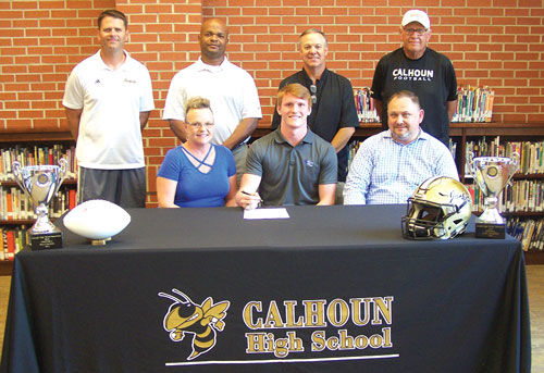Calhoun's Craig signs with Brevard College