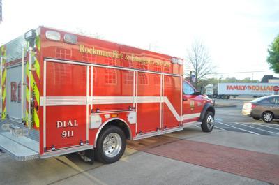 Rockmart Fire Department Rescue Vehicle