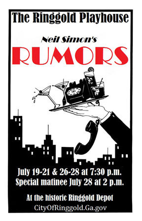 "Neil Simon's ""Rumors"""