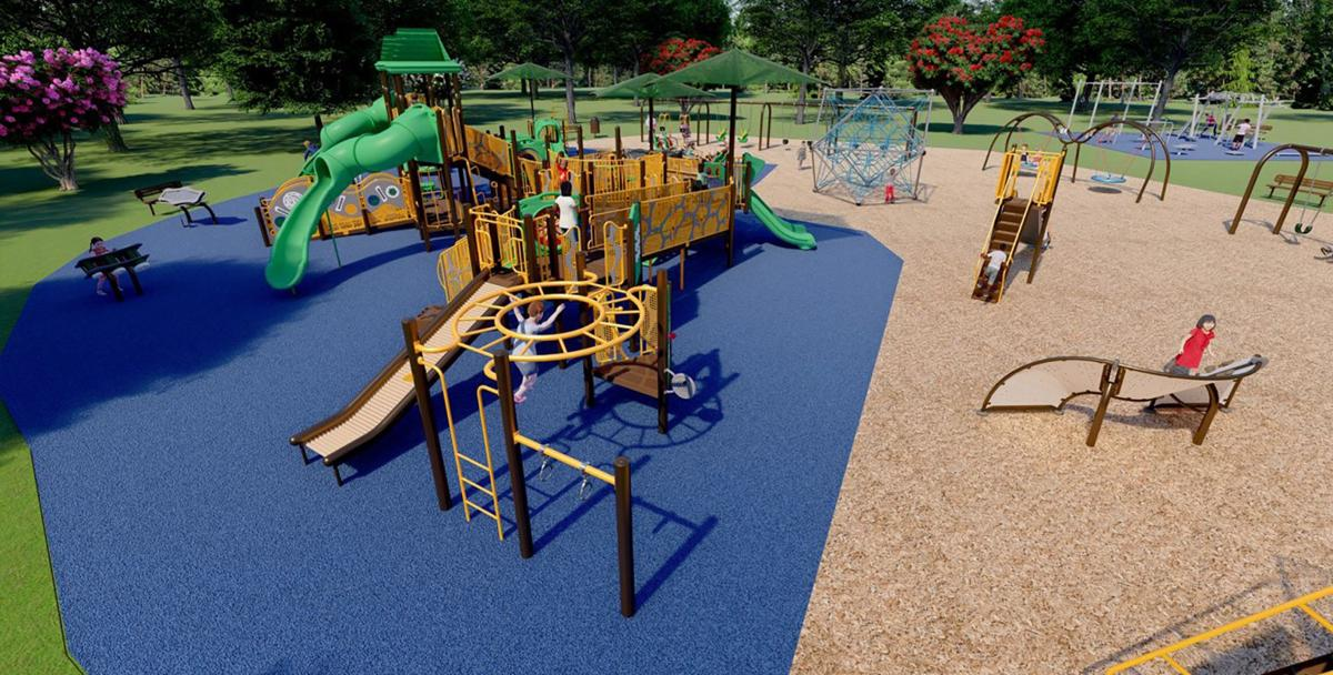 Fort Oglethorpe new playground 2
