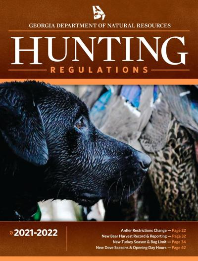 2021 Ga. DNR Hunting Guide now available