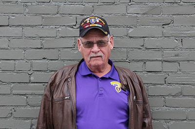 Vietnam veteran Larry Fleming