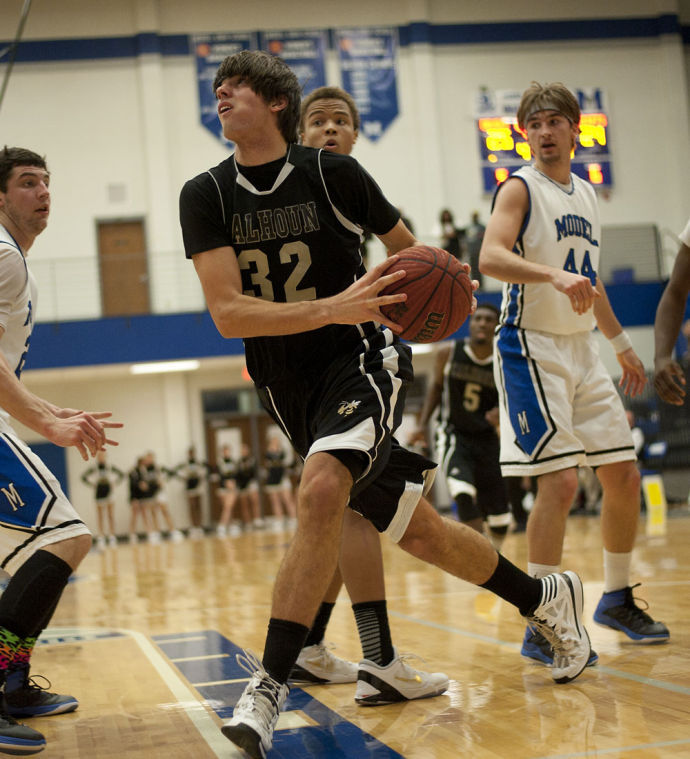 Calhoun @ Model boys Basketball
