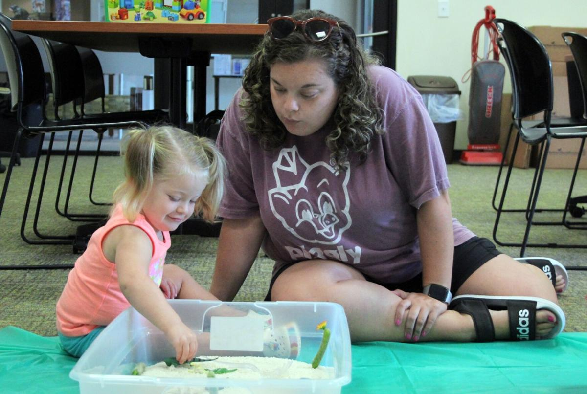 Library holds Sensory Day for kids