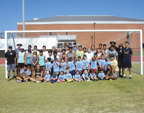 Calhoun Soccer Camp 3-5 group