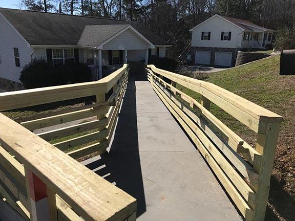 Finished ramp