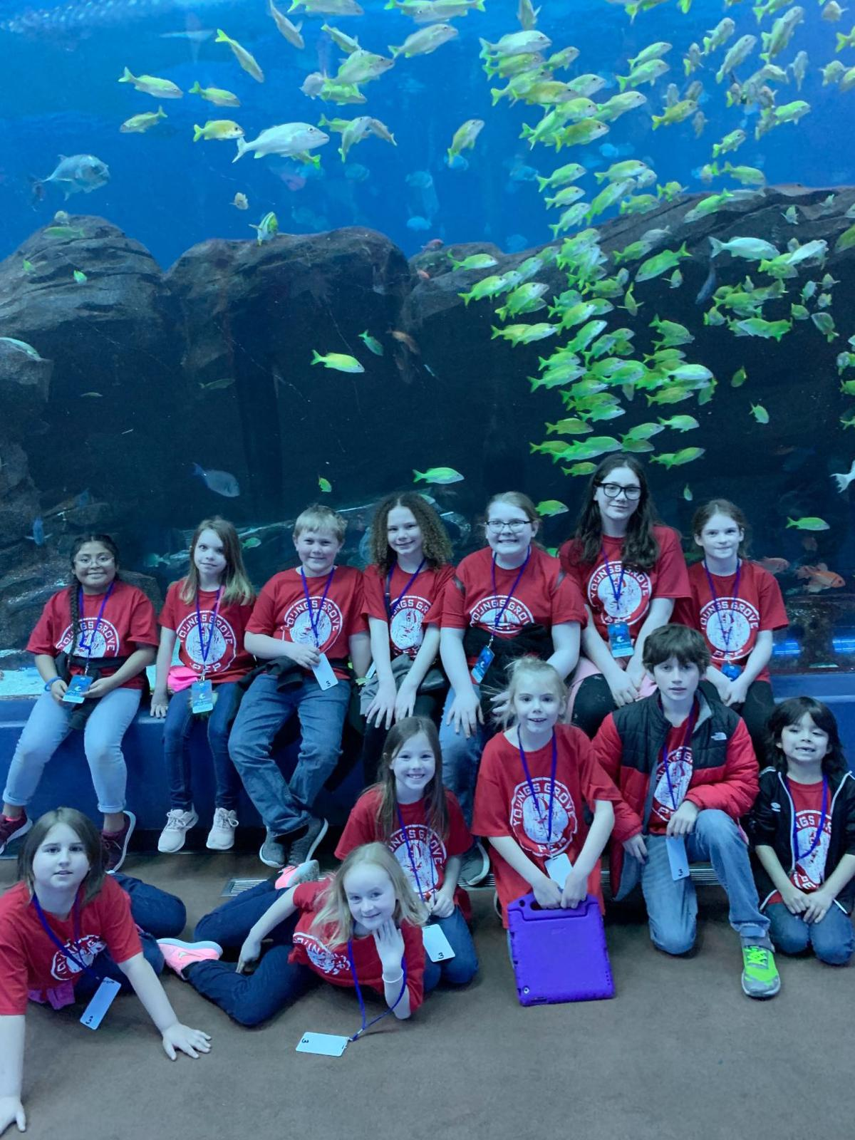 PSD Students at Georgia Aquarium