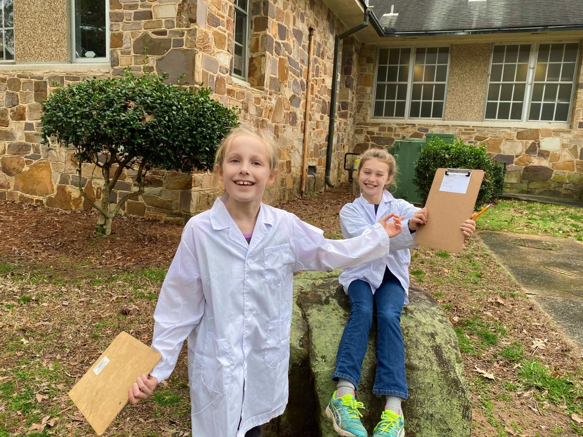 Berry College Elementary students keep their cool during weather study