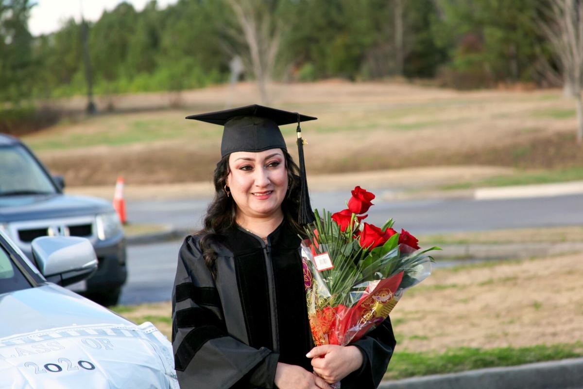 Floyd County GNTC students take part in drive-thru commencement
