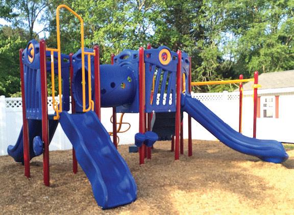 Playground donation