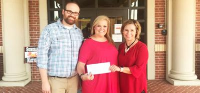 North Georgia National Bank makes donation to SES