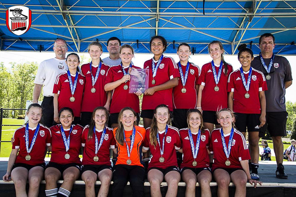 Arsenal U15 girls