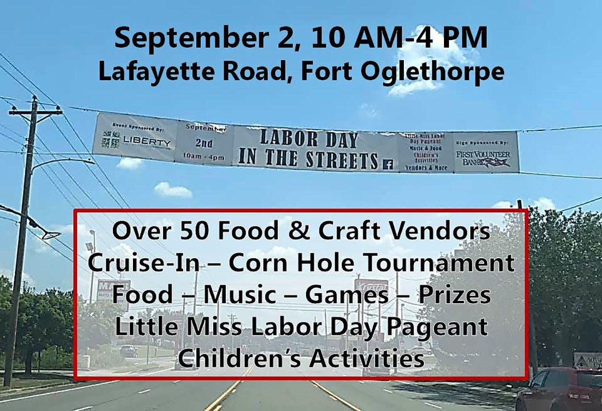 Fort O Labor Day in the Streets Banner