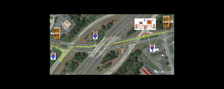 GDOT: Entrance ramp to I-75 at Exit 290 in  Bartow County closed beginning tonight