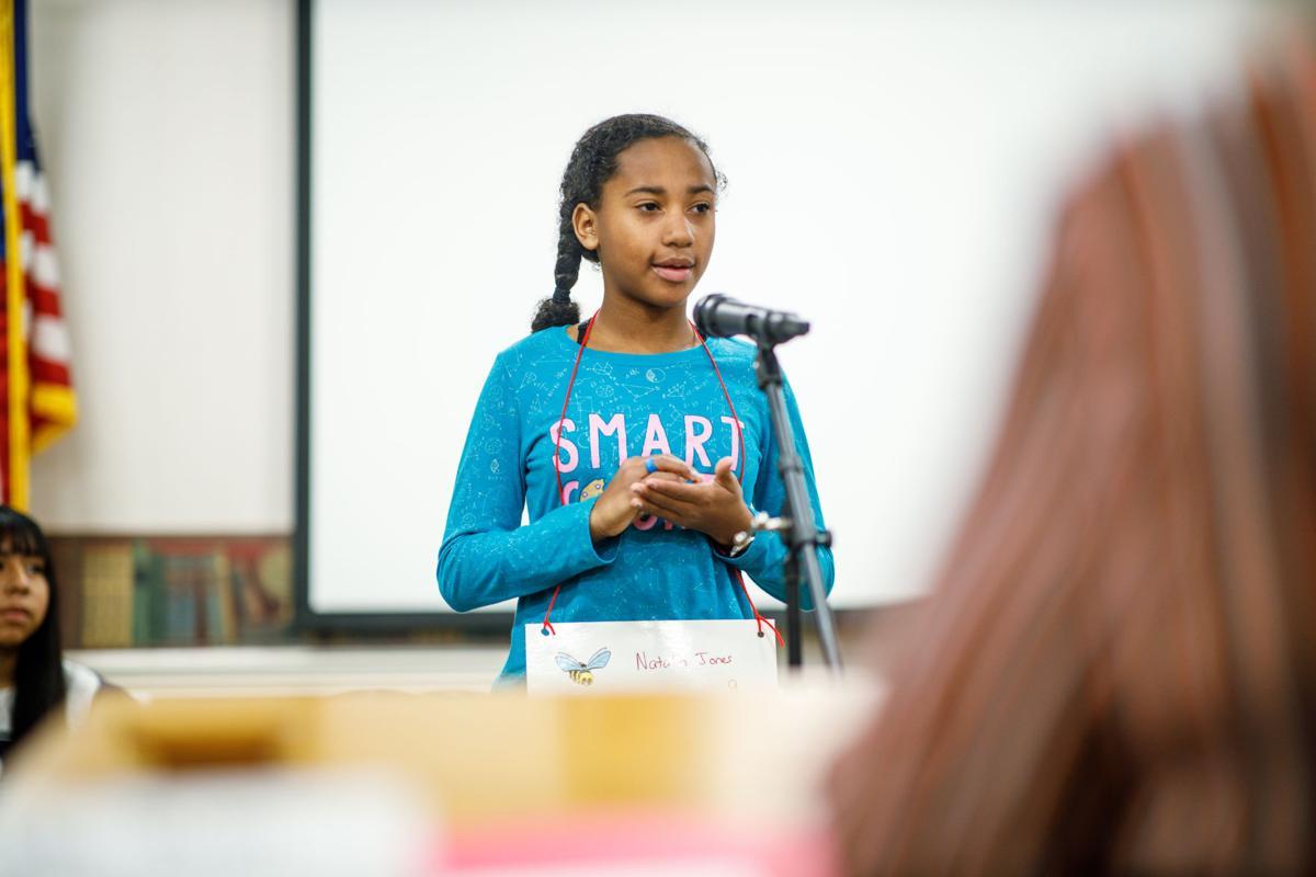 Natalia Jones wins Rome City Schools Spelling Bee