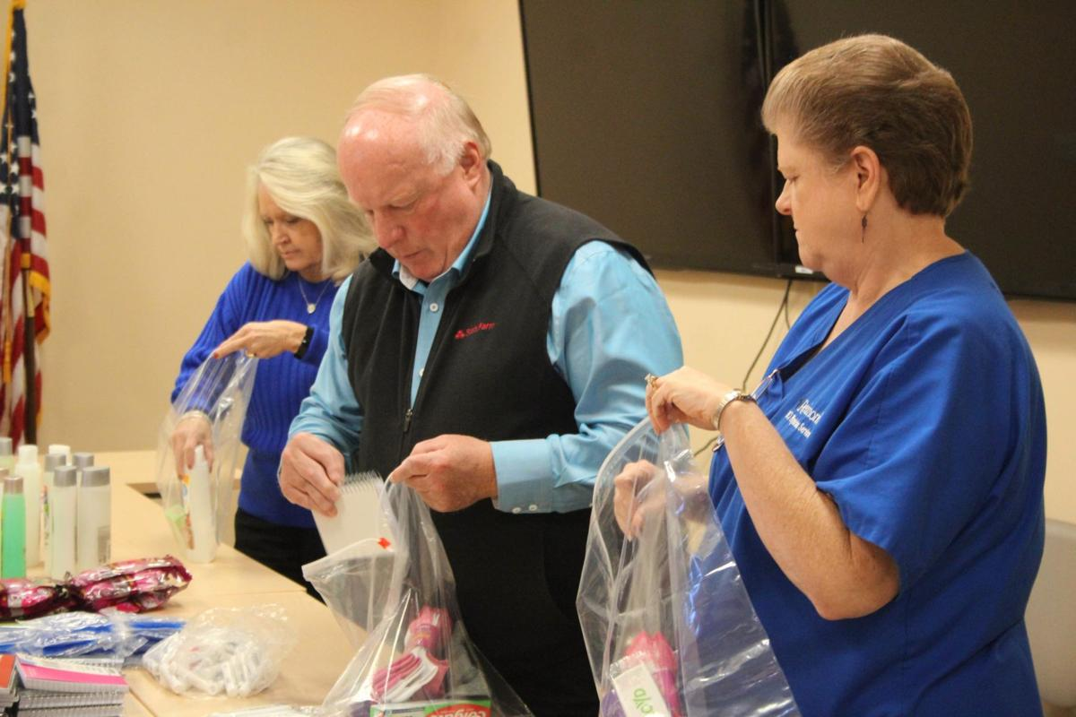 Rotarians give back during the holidays