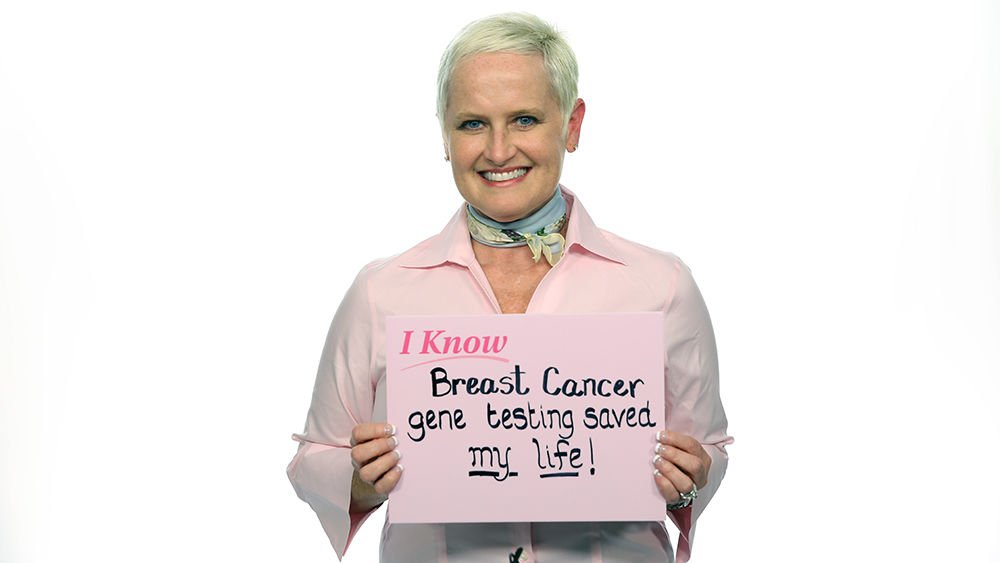 Gene test reduces the breast cancer danger